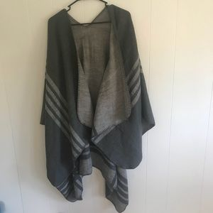 Olive and grey cardigan